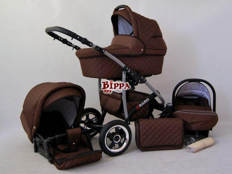 Multifunkciós Luxury babakocsi 3in1